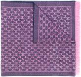 Gucci GG jacquard shawl - women - Wool - One Size