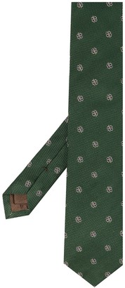 Church's Four-Leaf Clover Embroidered Tie