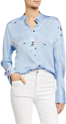 Equipment Pavotta Long-Sleeve Button-Down Shirt