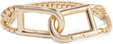 Eddie Borgo Allure Clip Gold-plated Bracelet - one size