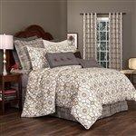 "Thomasville Izmir 4 Piece Comforter Set by Thomasville, 15"" Bed Skirt"
