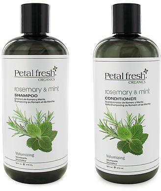 Petal Fresh Organics Rosemary & Mint Shampoo And Conditioner Duo