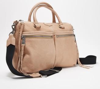 Aimee Kestenberg Lamb Leather Large Satchel - You Got This