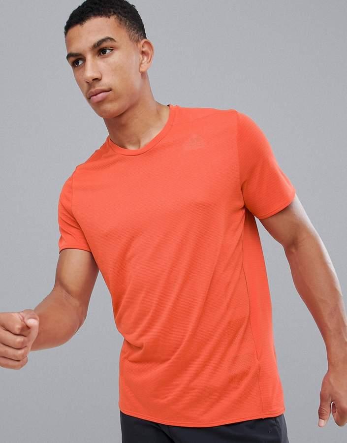 adidas Supernova T-Shirt In Orange CZ8724