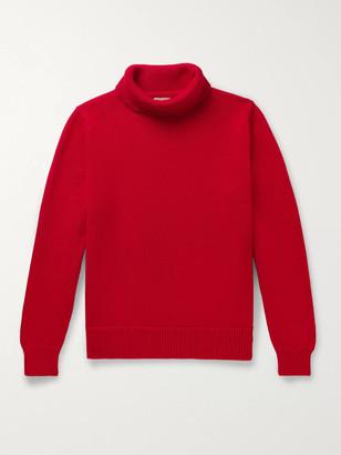 Connolly - Goodwood Merino Wool Rollneck Sweater - Men - Red