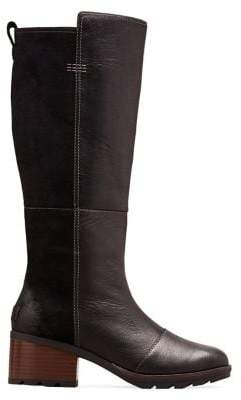 Sorel Cate Leather & Suede Tall Boots