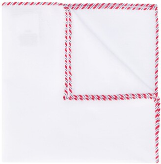 Brunello Cucinelli Stitching Detail Bow Tie