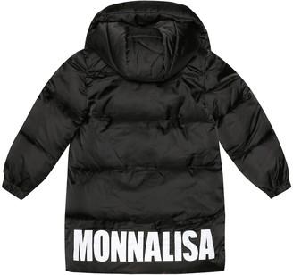 MonnaLisa Printed puffer coat