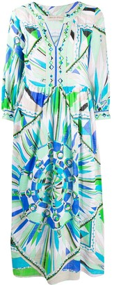 Emilio Pucci Bes print cotton dress