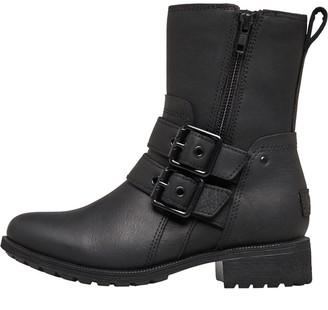 UGG Womens Wilde Biker Boots Black