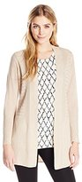 Nic+Zoe Women's Long Line Cardy