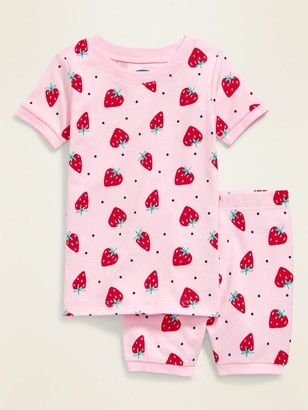 Old Navy Strawberry-Print Pajama Set for Toddler Girls & Baby