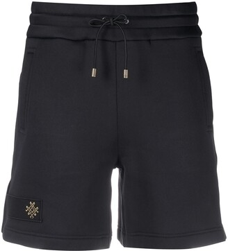 Mr & Mrs Italy x Audrey Tritto embroidered logo shorts