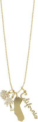 Ettika California Charms Pendant Necklace