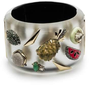 Alexis Bittar Fruit Studded Lucite(R) Hinge Bracelet