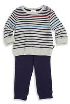 Splendid Baby's Two-Piece Striped Tee & Pants Set