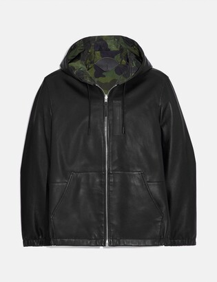 Coach Reversible Hooded Leather Trainer