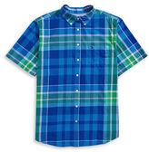 Tommy Hilfiger Big and Tall Carmalee Plaid Sport Shirt