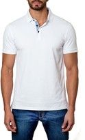Jared Lang Short Sleeve Solid Polo
