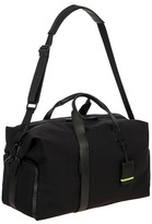 """Bric's Luggage Moleskine by Bric's 20\"""" Leather Trimmed Business Weekend Duffel"""