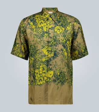 Dries Van Noten Floral printed casual shirt