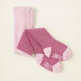 Children's Place Shine striped tights