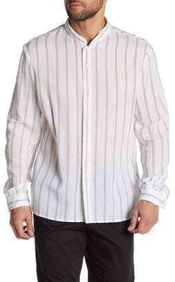John Varvatos Slim Fit Double Layer Shirt