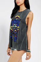 Urban Outfitters Blackstone Day Of The Dead Muscle Tee