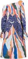 Reemami - mountain star print dress - women - Polyester/Viscose - XS