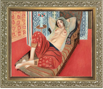 Overstock Art Overstockart Odalisque With Red Pants By Henri Matisse