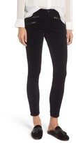 AG Jeans Women's The Legging Ankle Skinny Moto Velvet Pants