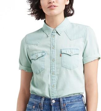 Levi's Women's Ultimate Western Denim Shirt