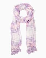 Charming charlie Traditional Plaid Blanket Scarf