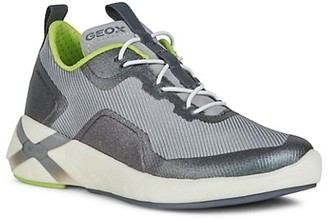 Geox Little Boy's and Boy's Mix Media Low-Top Sneakers