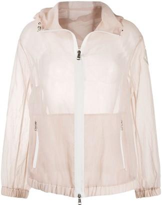 Moncler Transparent Hooded Jacket