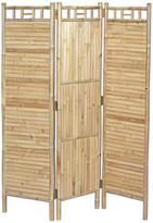 Bamboo54 3-Panel Flat Bamboo Screen