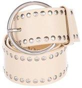 Miu Miu Embellished Leather Belt
