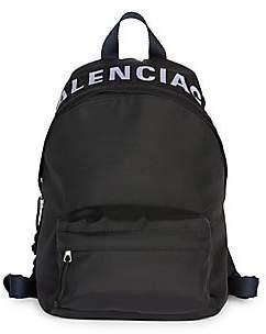 Balenciaga Women's Small Wheel Logo Backpack
