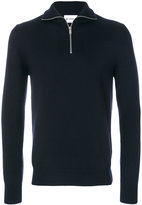Dondup zip placket turtle neck jumper