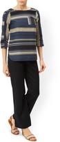 Monsoon Lola Regular Linen Trouser