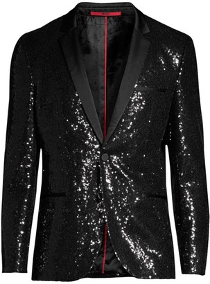 HUGO Classic Sequin Jacket