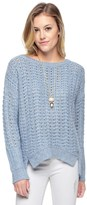 Juicy Couture Fancy Stitch Chainette Pullover