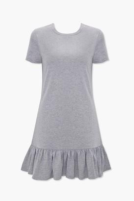 Forever 21 Ruffle-Hem T-Shirt Dress