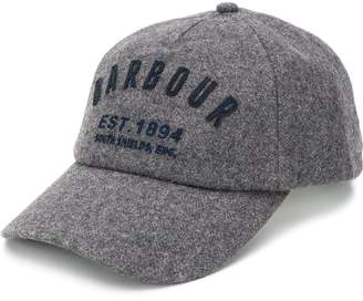 Barbour embroidered logo baseball cap