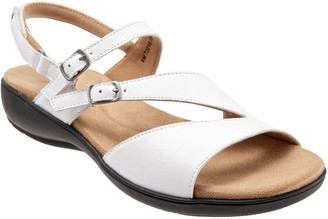 Trotters Adjustable Leather Sandals - Riva