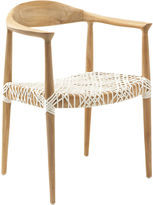 Safavieh Francesca Chair, Natural/White