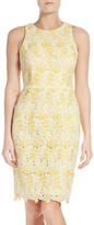 Maggy London Lace Sheath Dress (Regular & Petite)