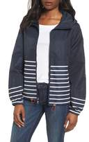 Vince Camuto Stripe Windbreaker Jacket