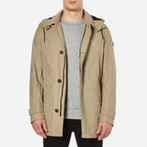Boss Orange Otorio Hooded Coat Medium Beige