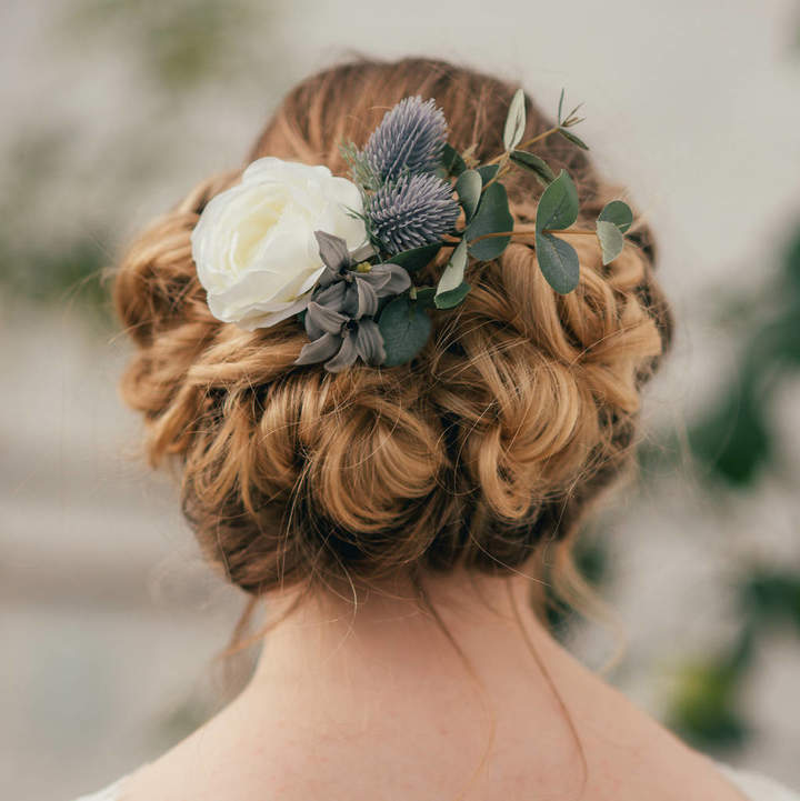 Ophelia Luna and Wild Thistle Hair Clip